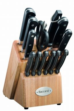 Baccarat Sabre 14 Piece Knife Block