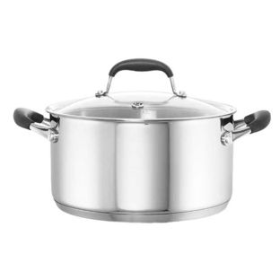 Baccarat Capri + Stainless Steel 5.4L/24cm Casserole with Lid