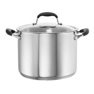 Baccarat Capri + Stainless Steel 8.2L/24cm Stockpot with Lid