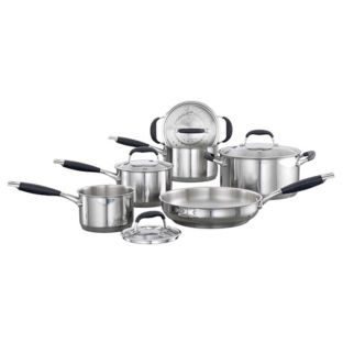 Baccarat Capri + Stainless Steel 6 Piece Cookware Set