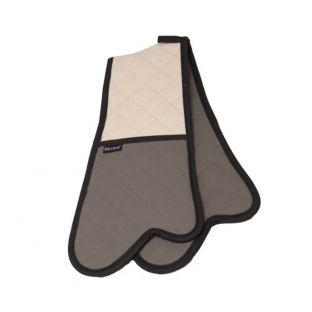 Baccarat Flame 87cm Double Oven Glove