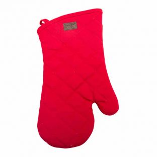 Baccarat Red Kitchen Oven Glove