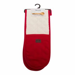 Baccarat Red Kitchen Double Oven Glove