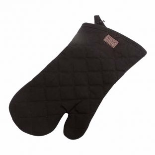 Baccarat Black Kitchen Oven Glove