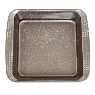 Baccarat Granite 20cm Square Cake Pan