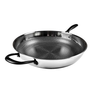 Baccarat Triton Stainless Steel Non-Stick Frypan with Helper Handle 32cm