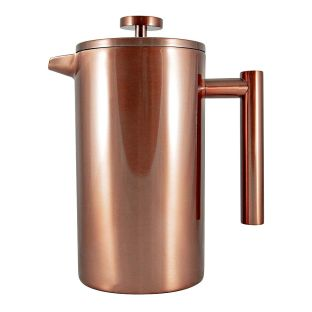 Baccarat Barista Brillante Double Wall Coffee Press 1L Copper