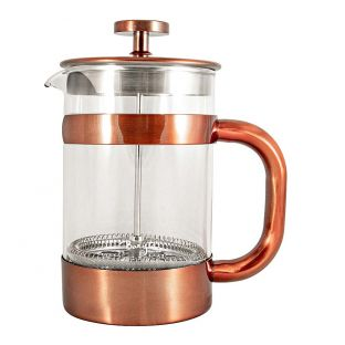 Baccarat Barista Brillante French Coffee Press 800ml Copper