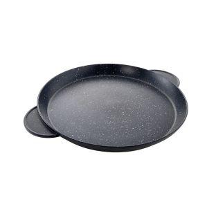Baccarat Stone Non Stick Paella Pan 32cm Black