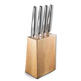 Baccarat Universal Ash Wood Steak Knife Holder