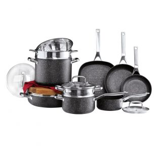 Baccarat Ultimo 10 Piece Non Stick Cookware Set