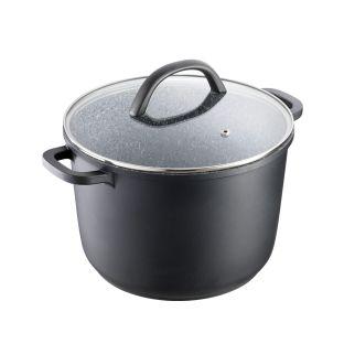 Baccarat Stone X Non Stick Cast Aluminium Stockpot with Lid 24cm