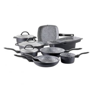 Baccarat Stone X 10 Piece Non Stick Cookware Set