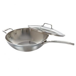 Baccarat iconiX 32 x 9cm Wok with Lid