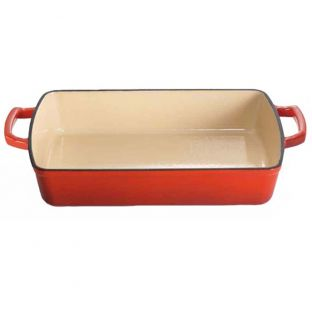 Baccarat Le Connoisseur Roasting Dish 33cm Red