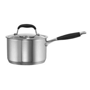 Baccarat Capri + Stainless Steel 2.8L/18cm Saucepan with Lid