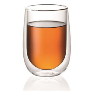 Baccarat Barista Cafe Double Wall Glass 350ml Set of 2