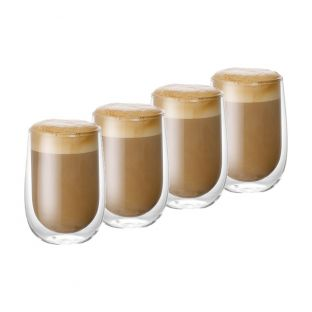 Baccarat Barista Cafe Double Walled Glass 350ml Set of 4