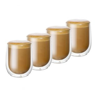 Baccarat Barista Cafe Double Walled Glass 250ml Set of 4