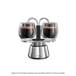 Baccarat Barista Brillante Double Espresso Coffee Maker