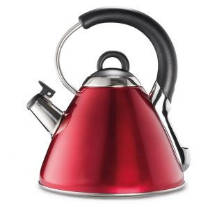 Baccarat Barista Italico Stovetop Whistling Kettle 2.2L Red