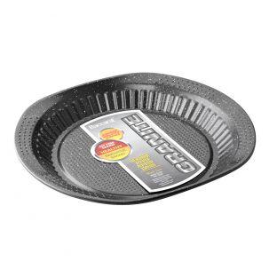 Baccarat Granite Carbon Steel Non Stick Pie Dish 30cm