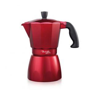 Baccarat Barista Italico 6 Cup Espresso Maker Red