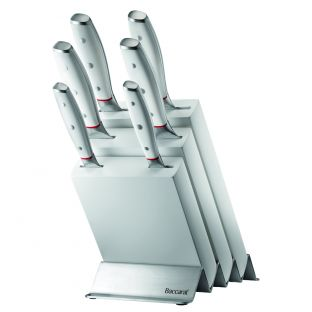 Baccarat iconiX Straub 7 Piece Knife Block