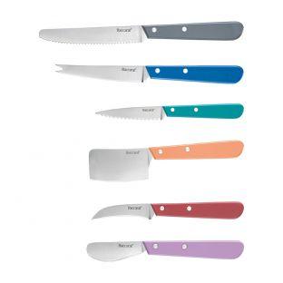 Baccarat Le Connoisseur Napoleon 6 Piece All Purpose Kitchen Knife Set Multicolour