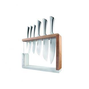 Baccarat Damashiro Kya 7 Piece Knife Block